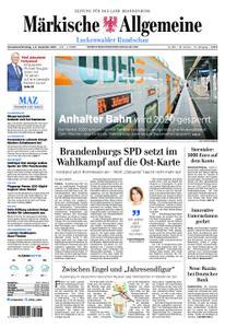 Märkische Allgemeine Luckenwalder Rundschau - 01. Dezember 2018