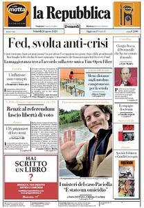 la Repubblica - 28 Agosto 2020