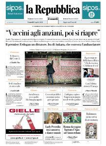 la Repubblica - 9 Aprile 2021
