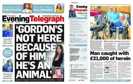 Evening Telegraph First Edition – January 16, 2019