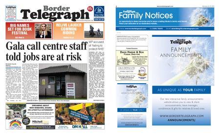 Border Telegraph – July 29, 2020