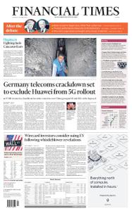 Financial Times Europe - October 1, 2020