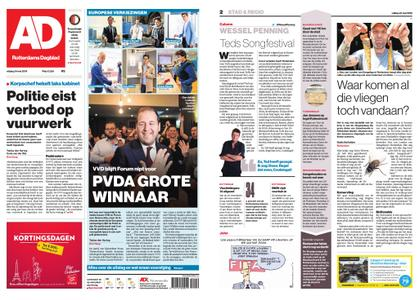 Algemeen Dagblad - Rotterdam Stad – 24 mei 2019