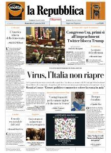 la Repubblica - 10 Gennaio 2021
