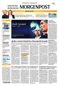Solinger Morgenpost – 07. Februar 2019