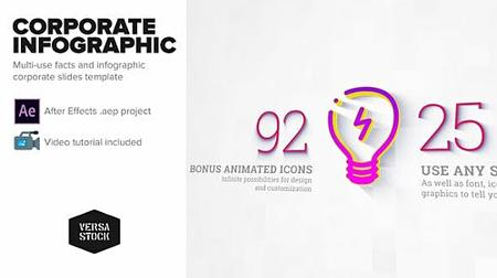 Corporate Infographic Slides - Project for After Effects (Videohive) 23645881