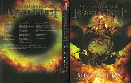 Royal Hunt - The Best Of Royal Works 1992-2012: 20th Anniversary Special Ed. (2012) [3CD, Japanese SHM-CD] Repost