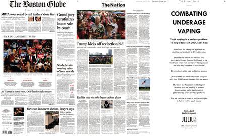 The Boston Globe – June 19, 2019