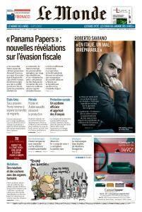 Le Monde du Vendredi 22 Juin 2018