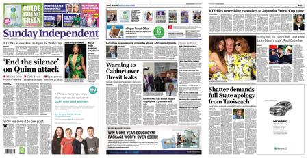 Sunday Independent – September 22, 2019