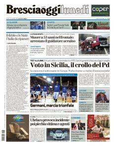 Brescia Oggi - 6 Novembre 2017