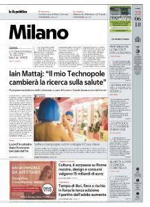 la Repubblica Milano - 22 Giugno 2018