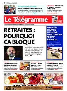 Le Télégramme Concarneau – 12 décembre 2019