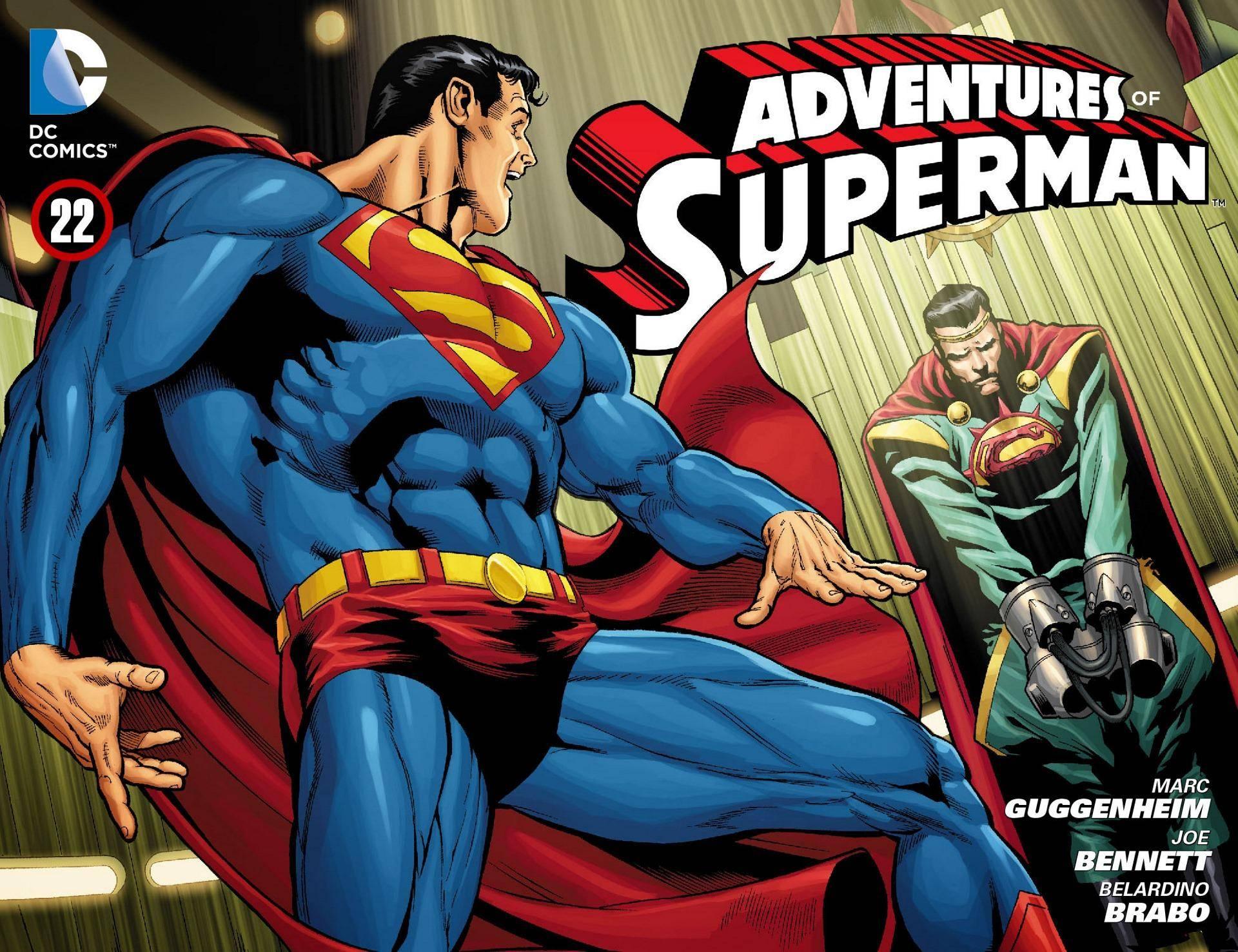 Adventures of Superman 022 2013 Digital