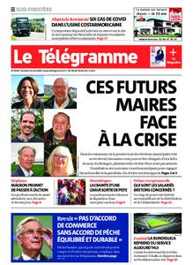 Le Télégramme Quimper – 16 mai 2020