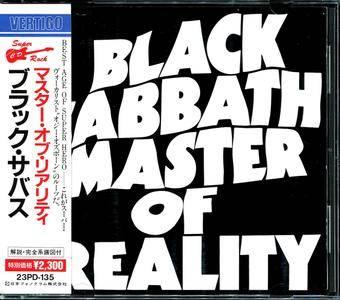 Black Sabbath - Master Of Reality (1971) [23PD-135, Japan CD, 1989] Repost
