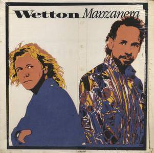 Wetton/Manzanera - Wetton Manzanera (1987) US 1st Pressing - LP/FLAC In 24bit/96kHz