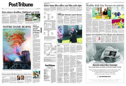 Post-Tribune – April 16, 2019