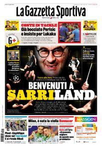 La Gazzetta dello Sport Roma – 21 luglio 2019