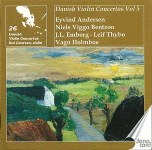 Kai Laursen - Danish Violin Concertos, Vol. 5 (2009)