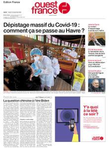 Ouest-France Édition France – 15 décembre 2020