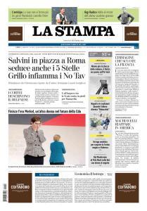 La Stampa Torino Provincia e Canavese - 8 Dicembre 2018