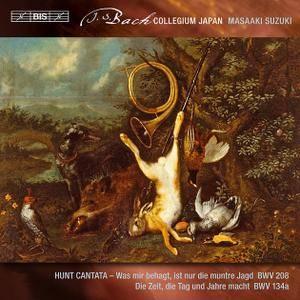 Masaaki Suzuki, Bach Collegium Japan - Bach: Secular Cantatas Vol.2, BWV 208 and 134a (2012)