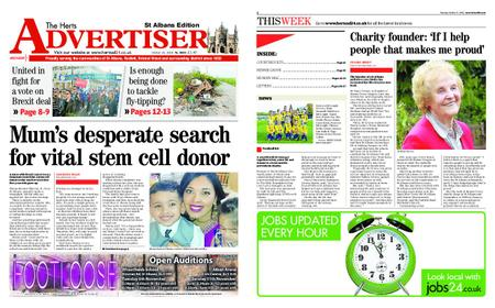 The Herts Advertiser – October 25, 2018