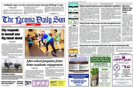 The Laconia Daily Sun – March 30, 2018