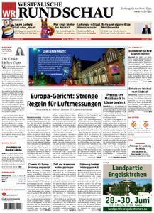 Westfälische Rundschau Finnentrop/Attendorn - 27. Juni 2019