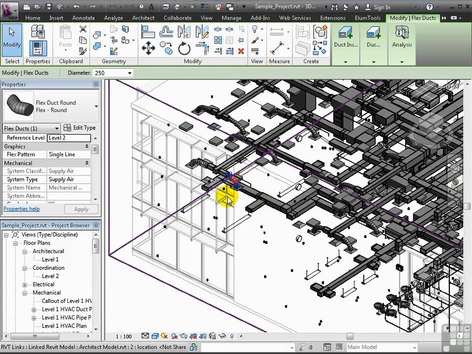 Infinite Skills - Learning Revit MEP 2012 Training Video / AvaxHome