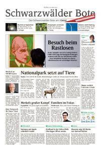 Schwarzwälder Bote St. Georgen, Triberg, Furtwangen - 29. Juni 2018
