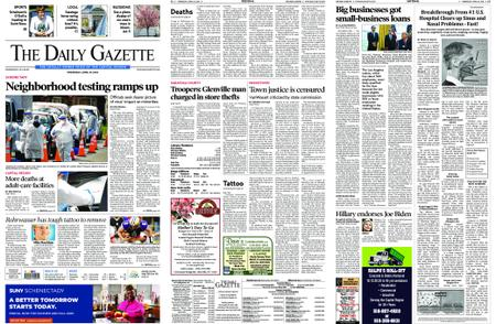 The Daily Gazette – April 29, 2020