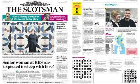 The Scotsman – October 25, 2017