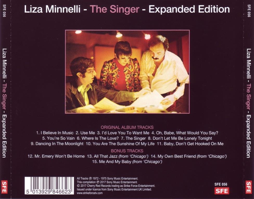 Liza Minnelli - The Singer (1973) [2017, Remastered ...