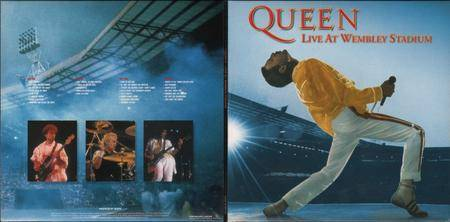 Queen - Live At Wembley Stadium (1992) [Toshiba-EMI TOCP-67464~65, Japan]