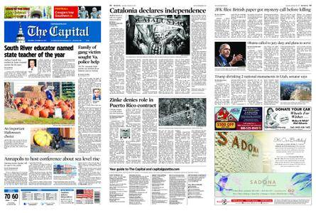 The Capital – October 28, 2017