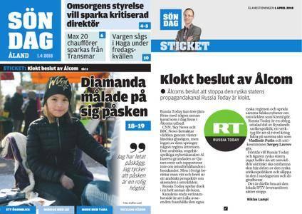 Ålandstidningen – 01 april 2018