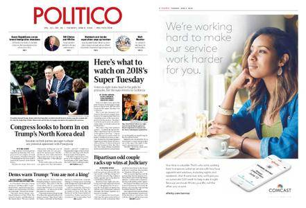 Politico – June 05, 2018