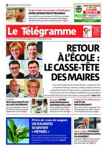 Le Télégramme Landerneau - Lesneven – 30 avril 2020