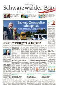 Schwarzwälder Bote Blumberg - 28. August 2018