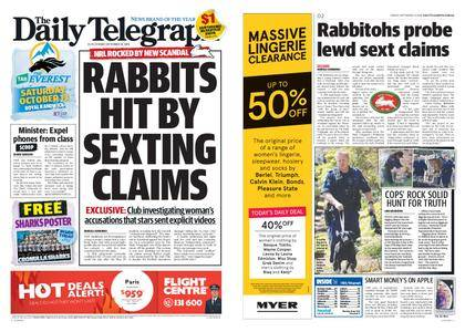The Daily Telegraph (Sydney) – September 14, 2018