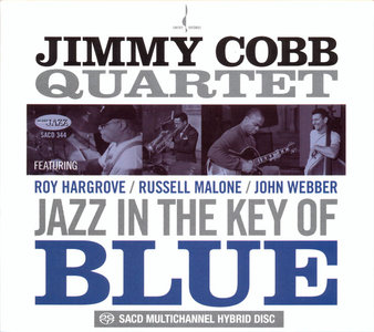 Jimmy Cobb Quartet - Jazz In The Key Of Blue (2009) [Chesky Records] {2.0 & 5.0} PS3 ISO + Hi-Res FLAC