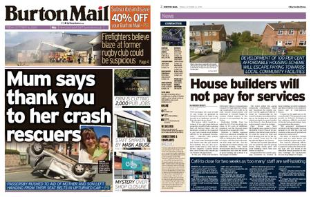 Burton Mail – October 16, 2020