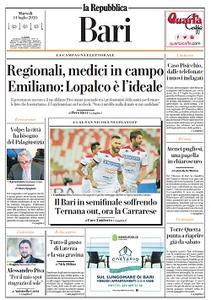 la Repubblica Bari - 14 Luglio 2020