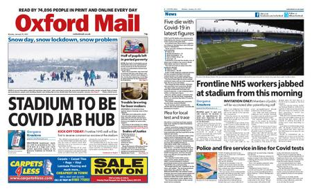 Oxford Mail – January 25, 2021