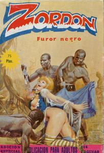 Zordon #7 (de 12) - Furor Negro