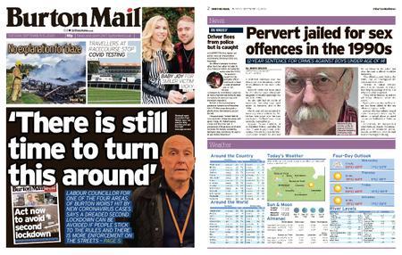 Burton Mail – September 15, 2020