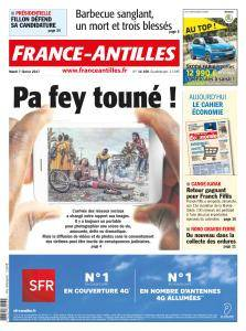 France-Antilles Guadeloupe du Mardi 7 Février 2017