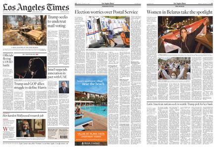 Los Angeles Times – August 14, 2020
